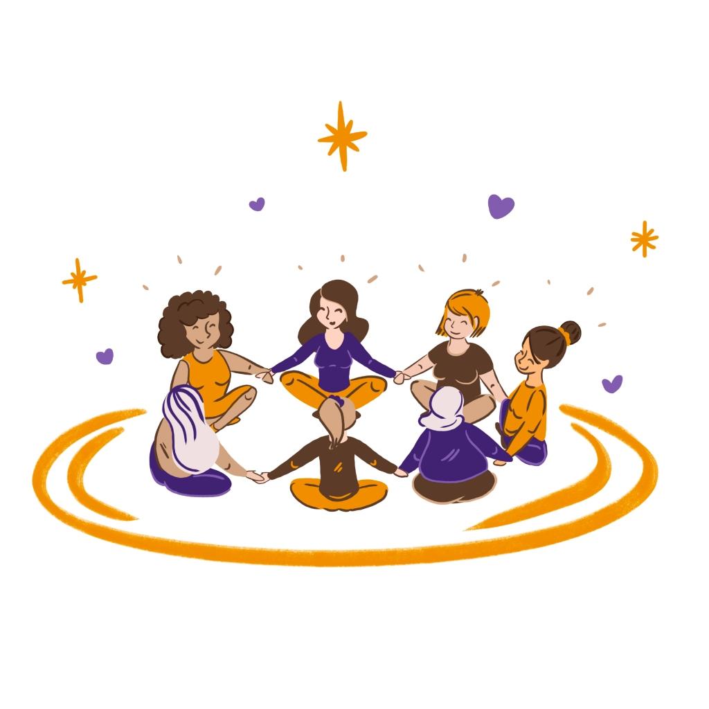 Cercle de femmes, échanges et partage au féminin - Christine Camelot - Sophro-analyse